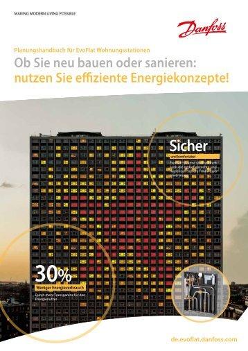 Planungshandbuch für EvoFlat-Wohnungsstationen - Danfoss