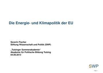 und Klimapolitik der EU - Akademie für Politische Bildung Tutzing