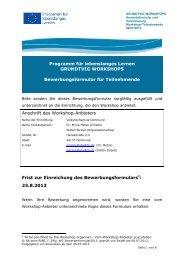 Zur Anmeldung... - VHS Dortmund