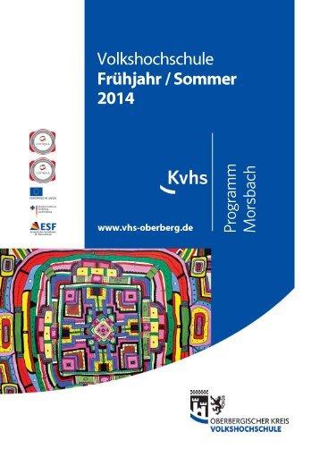 Morsbach - Volkshochschule Oberbergischer Kreis