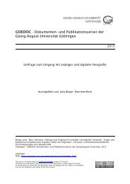 Umfrage zum Umgang mit analoger und digitaler Fotografie - goedoc