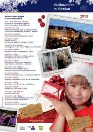 Weihnachten in Werdau 2013 - Stadt Werdau