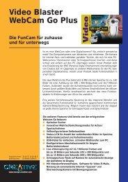 WebCam Go Plus - www2.produktinfo.conrad.de