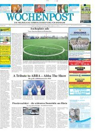 Monheim 04-14 - Wochenpost