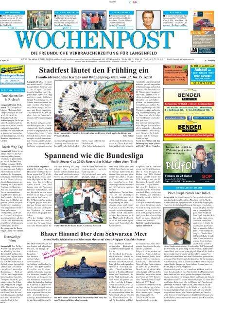 Langenfeld 15-13 - Wochenpost