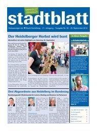 Der Heidelberger Herbst wird bunt - Stadt Heidelberg