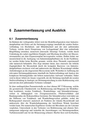 72 14 Zusammenfassung Einleitung Die Vorliegende Arbeit Ruhr