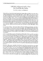 125jalzre Indogermam'stik in Graz Zur Geschichte des Faches