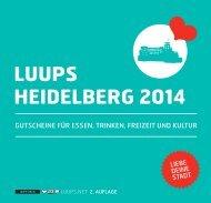 LUUPS HEIDELBERG 2014