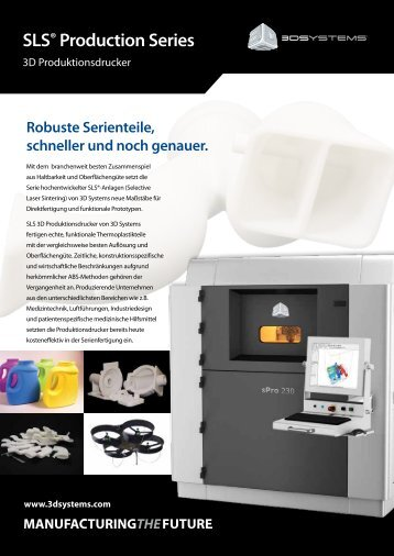 SLS® Production Series - 3D Systems