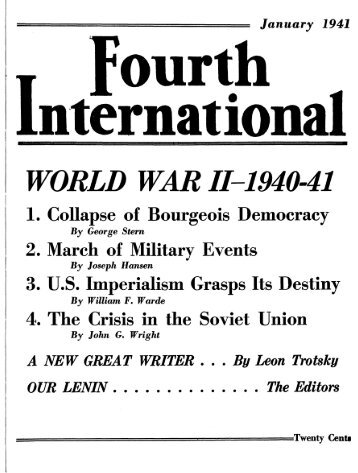 January 1941 - Marxists Internet Archive