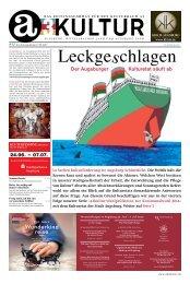 Der Augsburger Kulturetat säuft ab - a3kultur