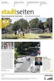 Bürgerinformation der Stadt Aachen www.aachen.de/stadtseiten