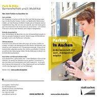 Der Flyer als PDF - Stadt Aachen