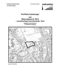 Laurentiushang/ Laurentiusstraße - Nord - Stadt Aachen