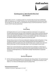 """Gestaltungssatzung """"Bahnhofsumfeld Rothe Erde ... - Stadt Aachen"""