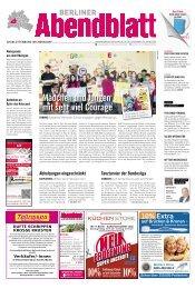 mädchen und Jungen mit sehr viel courage - Berliner Abendblatt