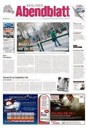 neuesleben vorderhaustür - Berliner Abendblatt