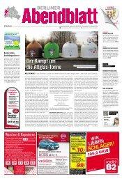 der kampf um die altglas-tonne - Berliner Abendblatt