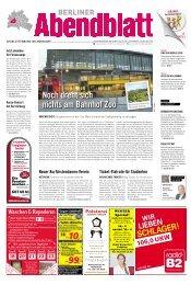 noch dreht sich nichts am bahnhof zoo - Berliner Abendblatt