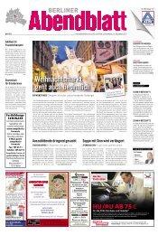 weihnachtsmarkt geht auch besinnlich - Berliner Abendblatt