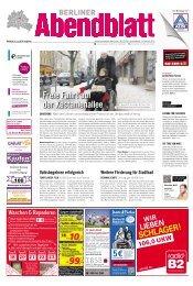 freie fahrt auf der kastanienallee - Berliner Abendblatt