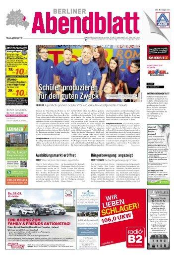 Schüler produzieren für den guten Zweck - Berliner Abendblatt