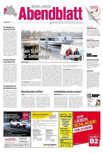 kein schiff für sonnentage - Berliner Abendblatt