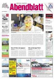 essen schafft Wissen - Berliner Abendblatt