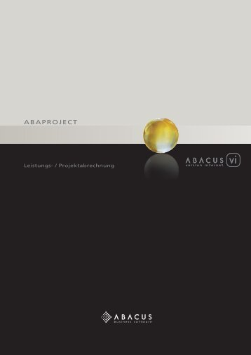 AbAProject - ABACUS Research AG