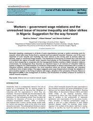 workers - Academic Journals