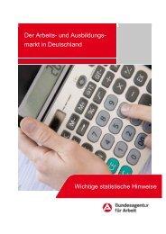 Wichtige statistische Hinweise zur Interpretation - Statistik der ...