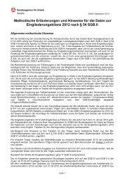 Methodische Hinweise SGB II Eingliederungsbilanz - Statistik der ...