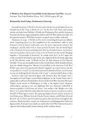 War, Literature & the Arts - WLA Journal