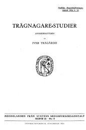 TRÄGNAGARE==STUDIER