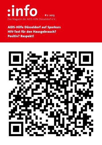 AIDS-Hilfe Düsseldorf auf Sparkurs HIV-Test für den Hausgebrauch ...