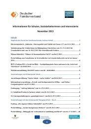 November 2013 - Deutscher Familienverband Sachsen Anhalt