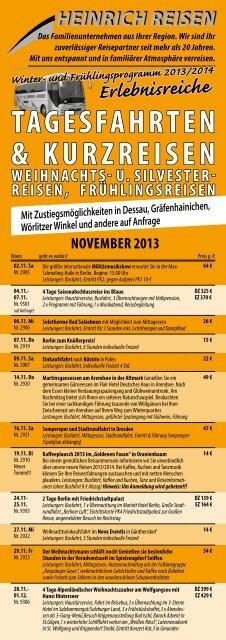 November 2013 - Heinrich GmbH
