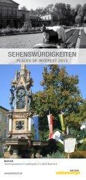 sehenswürdigkeiten - Bad Ischl - Salzkammergut