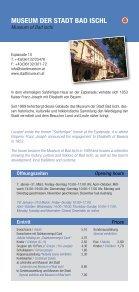 sehenswürdigkeiten - Bad Ischl - Salzkammergut - Seite 5