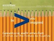 Download Präsentation - Accenture