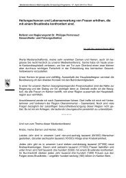 Referat von Regierungsrat Dr. Philippe Perrenoud