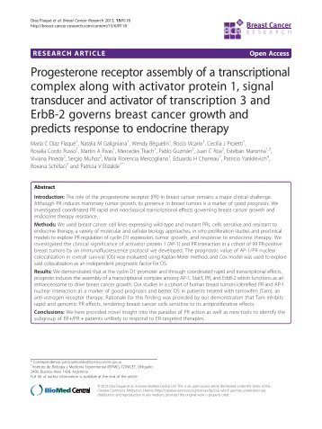 Provisional PDF - Breast Cancer Research