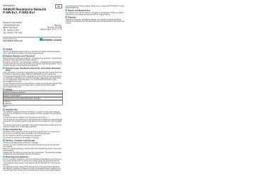 NAMUR Resistance Network FNREx1, FNR2Ex1 - Pepperl+Fuchs