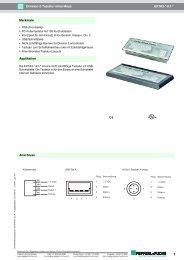 EXTA3-*-K1-* Division-2-Tastatur ohne Maus ... - Pepperl+Fuchs