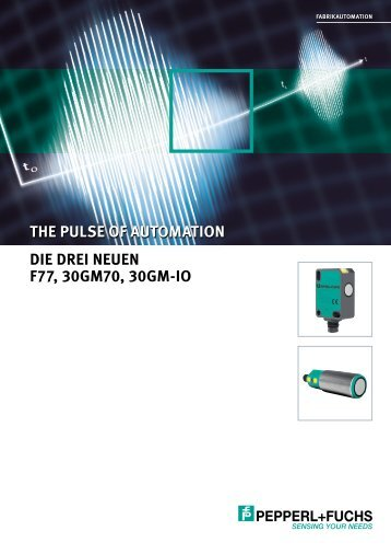 The Pulse of Automation - Ultrasonics by Pepperl+Fuchs - Die drei ...