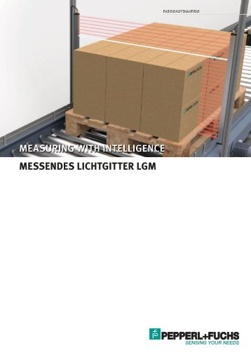 Measuring with intelligence - Messendes Lichtgitter ... - Pepperl+Fuchs