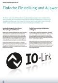 Measuring with intelligence - Messendes Lichtgitter ... - Pepperl+Fuchs - Page 4