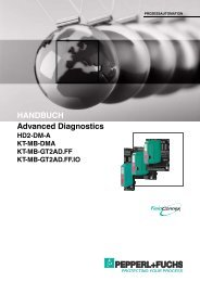 Advanced Diagnostics HANDBUCH - Pepperl+Fuchs