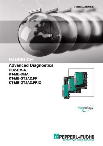Advanced Diagnostics HANDBUCH - Pepperl+Fuchs